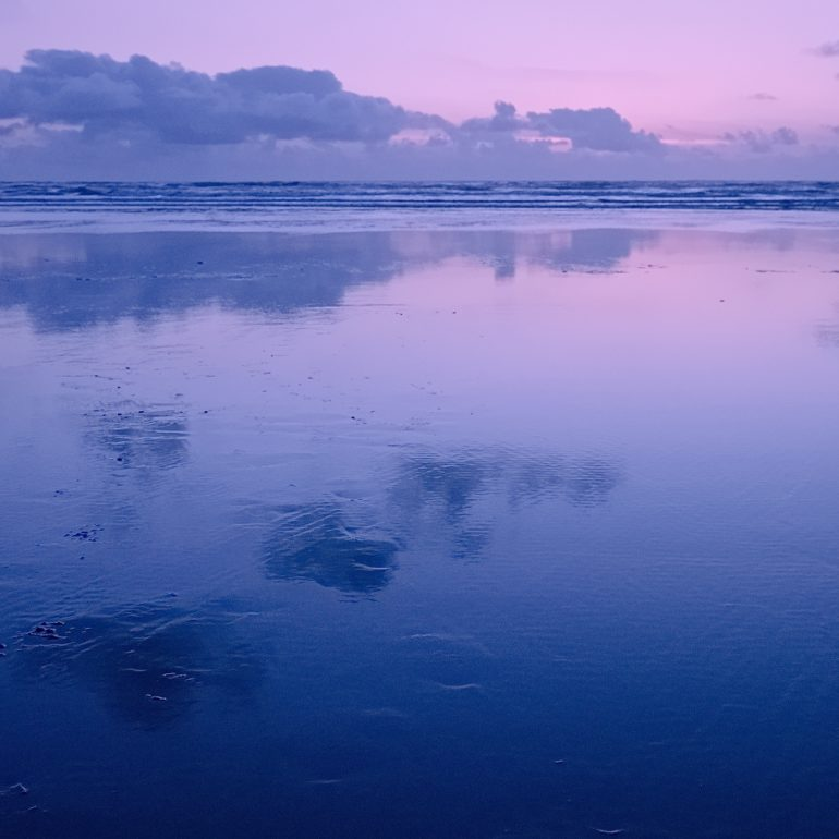 Long Beach Washington Sunset Photograph