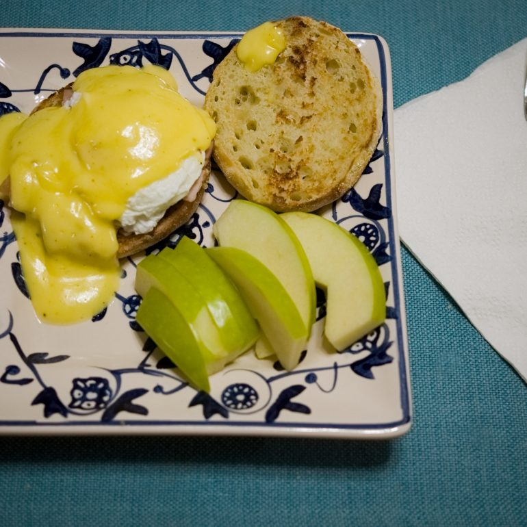 Eggs Benedict by Bob Pelletier taken by Pelletier Photo